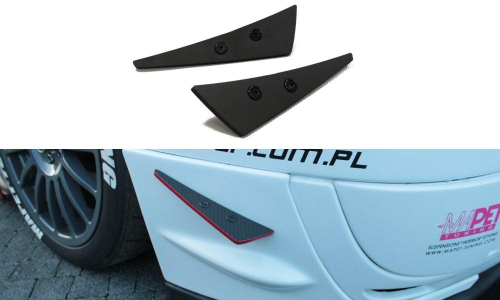 Owiewki Boczne Zderzaka Subaru Impreza MK2 WRX STI (Blobeye) - GRUBYGARAGE - Sklep Tuningowy